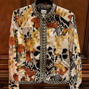 Chico's Polished Cotton Jacket
